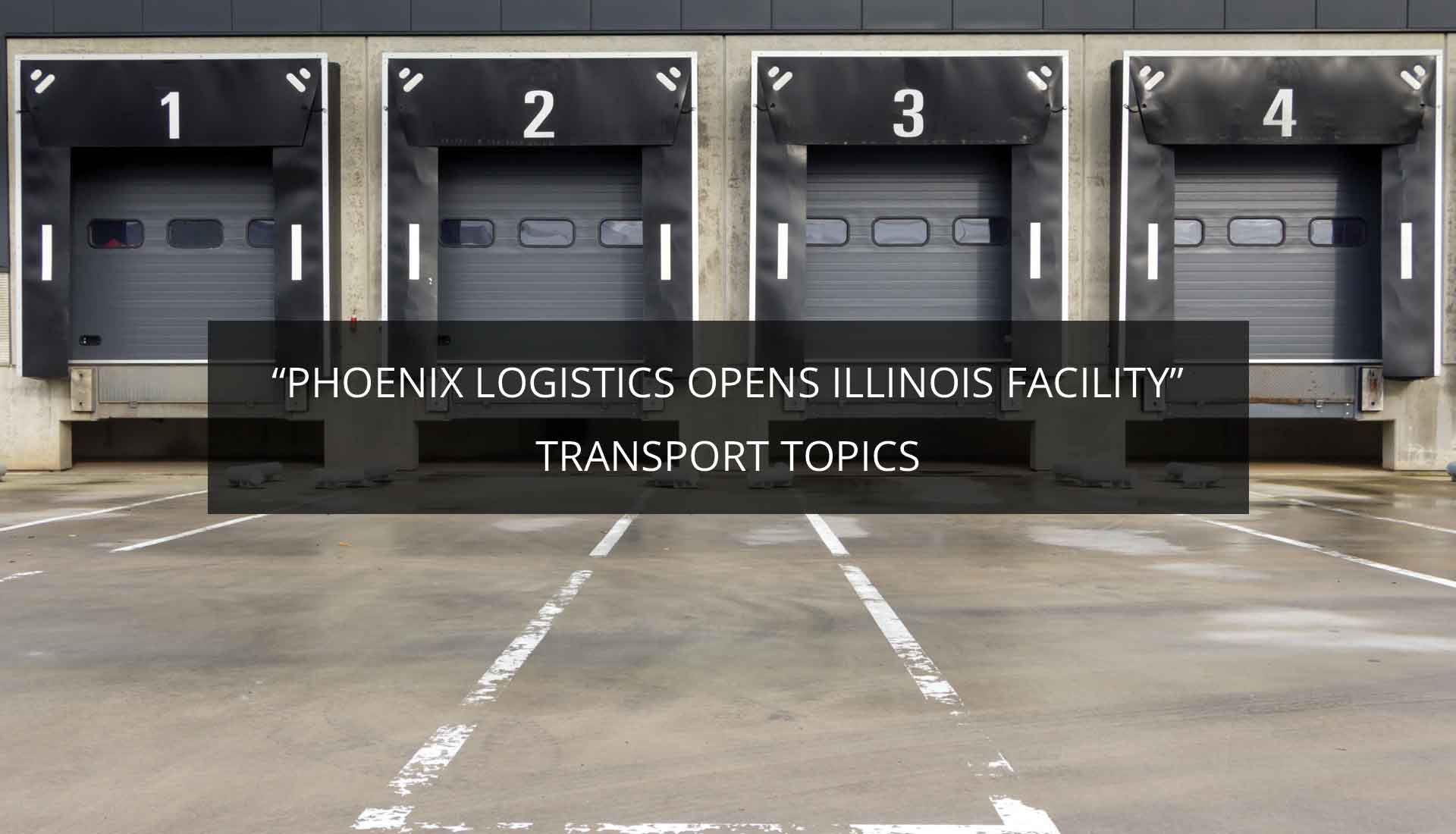 Phoenix Logistics | Strategic Real Estate. Applied Technology. Tailored Service.