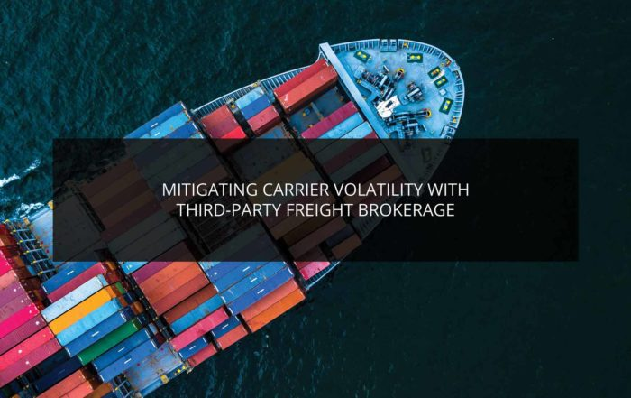 Mitigating Carrier Volatility With Third-Party Freight Brokerage | Phoenix Logistics